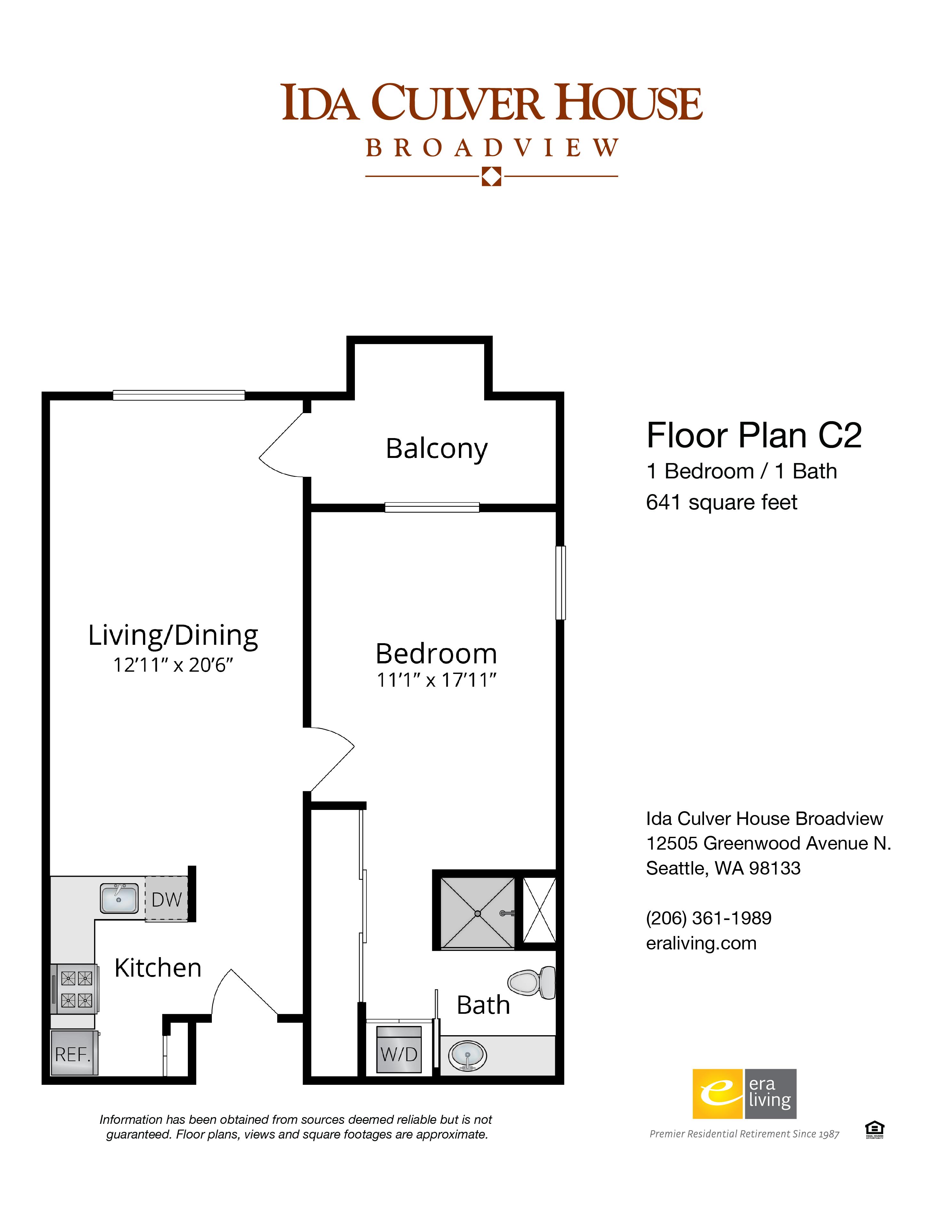 One Bedroom Options 1